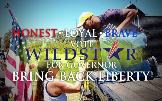 Vote Wildstar For Governor